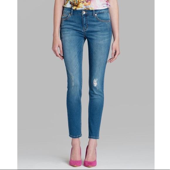 c96103b6d Ted Baker Frossia Skinny Abrasion Jeans. M 5b2febdb819e90ab466a2e1e